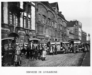 4- Services de livraisons hippo et automobile vers 1950 réduite